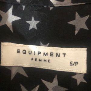Equipment Tops - Equipment Star Blouse
